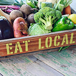 Happy World Health Day! Food Safety – Eat Local!