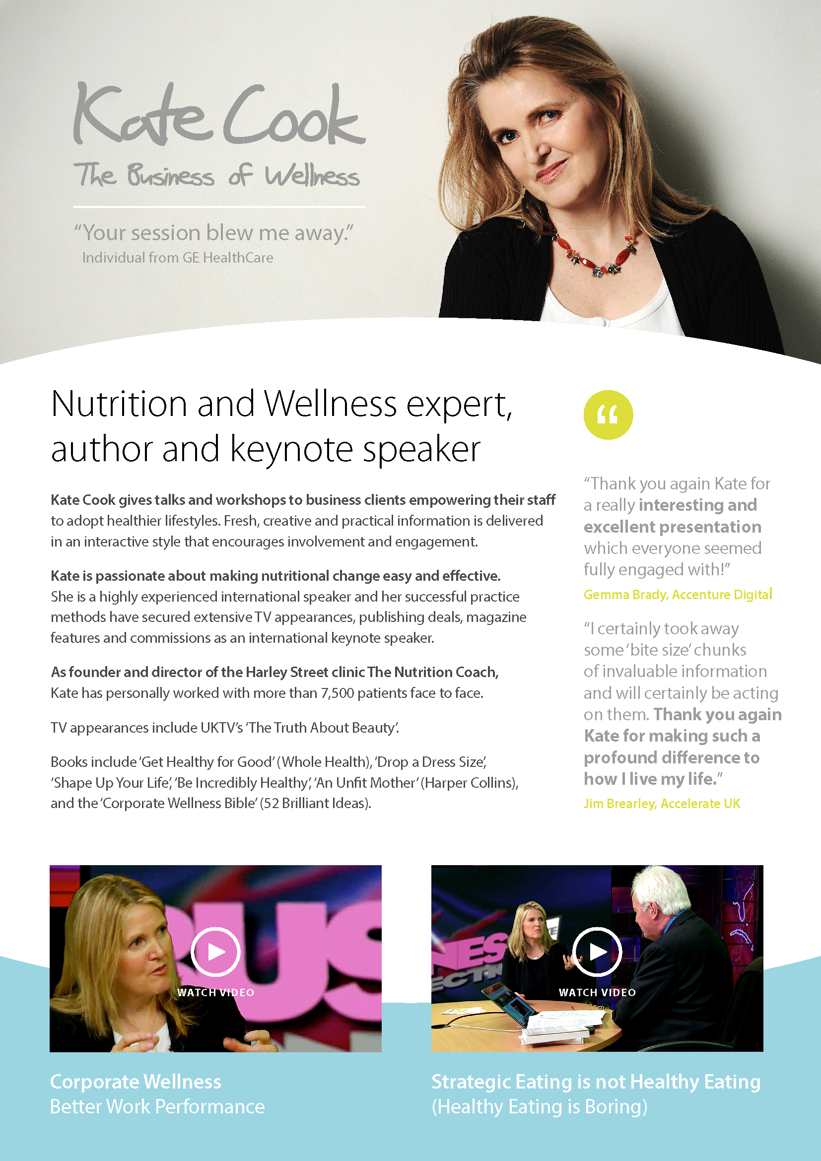 corporate nutrition kate cook corporate wellness expert speaker